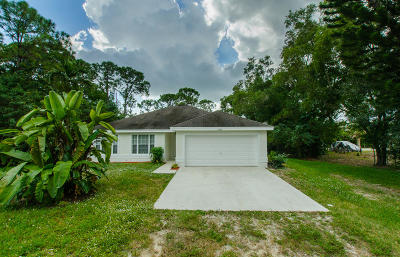 west palm Single Family Home For Sale: 12288 86th Road
