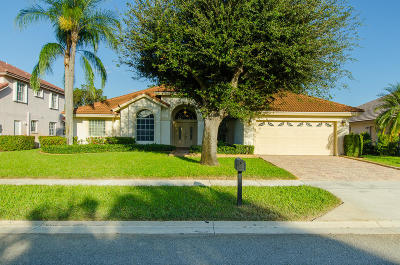 Lake Worth Single Family Home For Sale: 7550 Duncrest Road