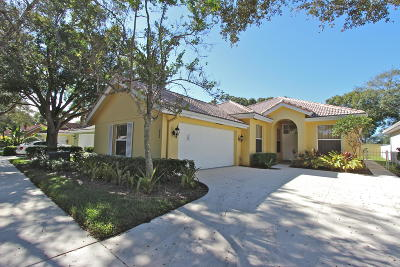 Jupiter Single Family Home For Sale: 252 Sussex Circle