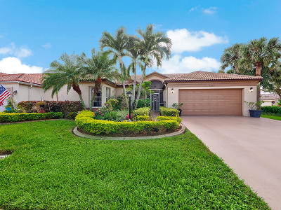 Lake Worth Single Family Home For Sale: 8390 Lake Cypress Road