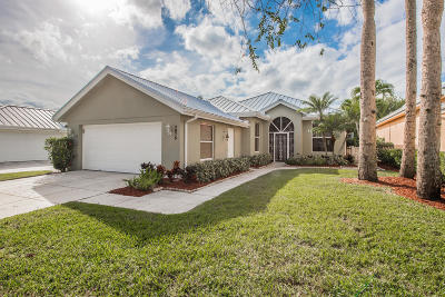 Palm City Single Family Home For Sale: 2875 SW Brighton Way