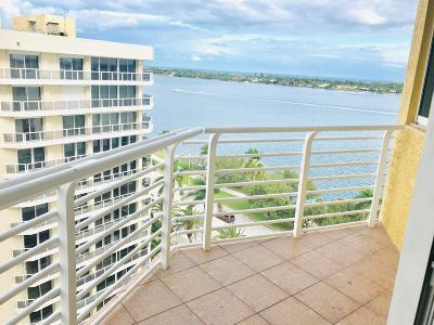 West Palm Beach Rental For Rent: 1551 Flagler Drive #1102