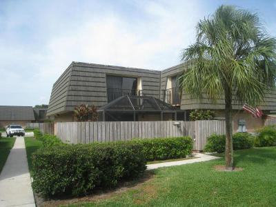West Palm Beach Townhouse For Sale: 3819 38th Way