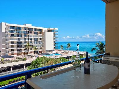 Palm Beach Condo For Sale: 3475 S Ocean Boulevard #412