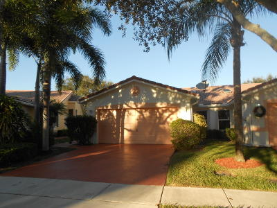 Boynton Beach Single Family Home For Sale: 22 Sausalito Drive