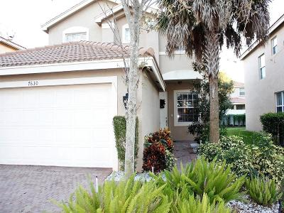 Boynton Beach Single Family Home For Sale: 7630 Topiary Avenue