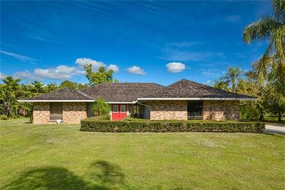 Palm City Single Family Home For Sale: 3831 SW Bimini Circle