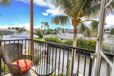Boynton Beach Townhouse For Sale: 846 Virginia Garden Drive