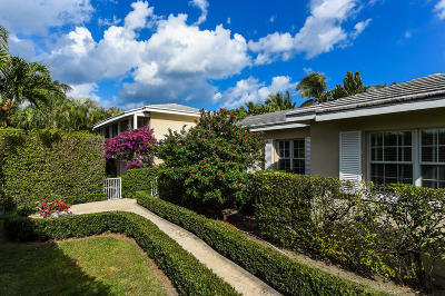 Palm Beach Single Family Home For Sale: 1305 Ocean Way