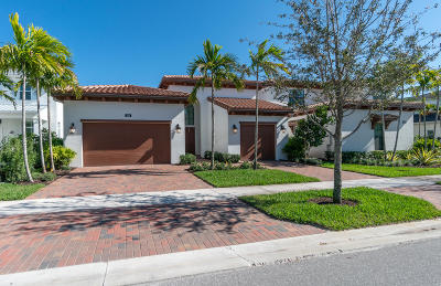Palm Beach Gardens Single Family Home For Sale: 1110 Faulkner Terrace