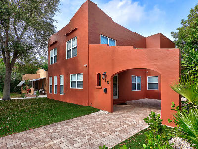 West Palm Beach Single Family Home For Sale: 815 Flamingo Drive