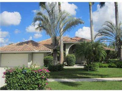 Boca Raton Single Family Home For Sale: 10481 Milburn Lane