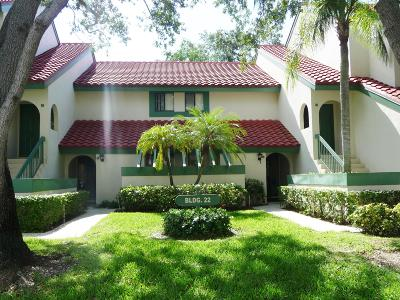 Palm Beach Gardens Rental For Rent: 22 Lexington Lane #C