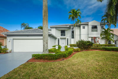 Boca Raton Single Family Home For Sale: 10727 Santa Rosa Drive