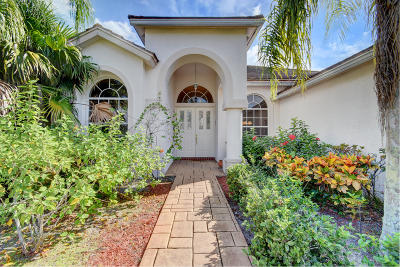 Boca Raton Single Family Home For Sale: 21317 Gosier Way