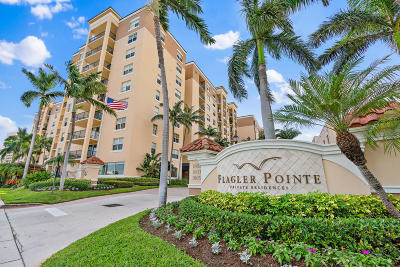 West Palm Beach Condo For Sale: 1801 Flagler Drive #312