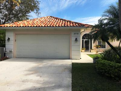 West Palm Beach Single Family Home For Sale: 2772 Irma Lake Drive
