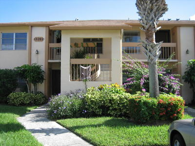 Delray Beach Rental For Rent: 13282 Pineapple Palm Court #E