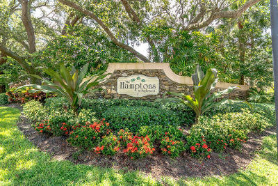 Jupiter Single Family Home For Sale: 107 S Hampton Drive