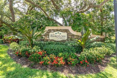 Jupiter Single Family Home Contingent: 107 S Hampton Drive