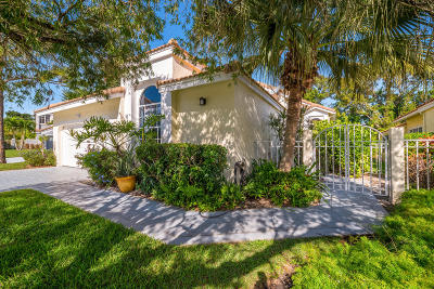 Palm Beach Gardens Single Family Home For Sale: 13909 Palm Grove Place