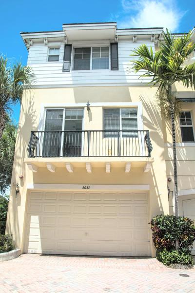 Boca Raton FL Townhouse For Sale: $381,250