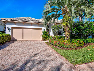 Palm Beach Gardens Single Family Home For Sale: 123 Banyan Isle Drive