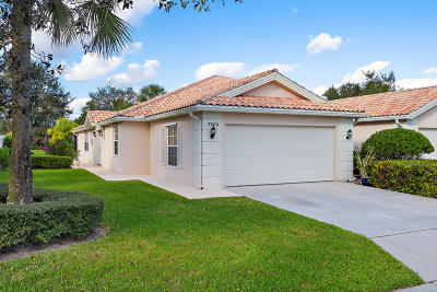 west palm Single Family Home For Sale: 7903 Nile River Road