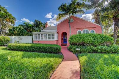 West Palm Beach Single Family Home For Sale: 442 31st Street