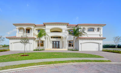 Boynton Beach Single Family Home For Sale: 6434 Esprit Way