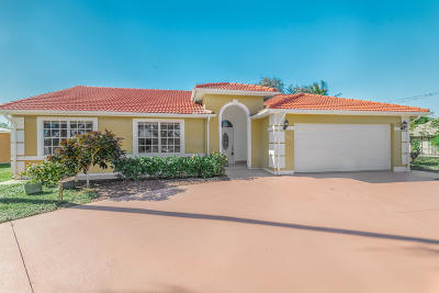 Port Saint Lucie, Saint Lucie West Single Family Home For Sale: 1608 SE Durango Street
