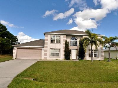 Port Saint Lucie, Saint Lucie West Single Family Home For Sale: 5777 NW Esau Avenue