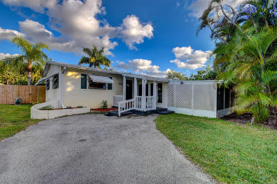 Lake Worth Single Family Home For Sale: 5634 West Road
