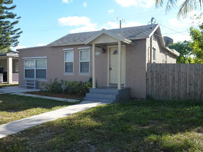 West Palm Beach Single Family Home For Sale: 616 51st Street