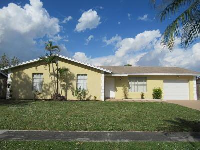 Boynton Beach Single Family Home For Sale: 5067 S Saint John Avenue