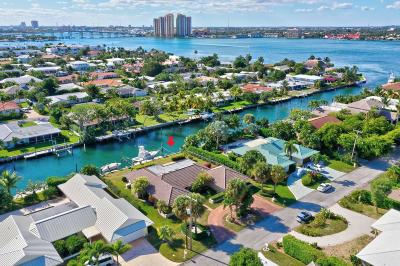 Singer Island Single Family Home For Sale: 1091 Coral Way