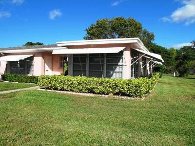 Delray Beach Single Family Home For Sale: 247 High Point Court W #D