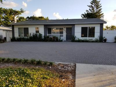 Boynton Beach Single Family Home For Sale: 226 SE 23rd Avenue