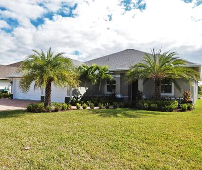 Port Saint Lucie, Saint Lucie West Single Family Home For Sale: 250 SW Vista Lake Drive