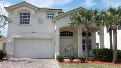 Port Saint Lucie Single Family Home For Sale: 2306 SW Newport Isles Boulevard