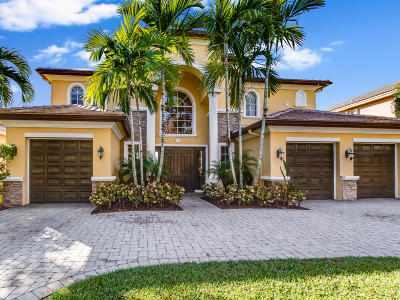 Royal Palm Beach Single Family Home For Sale: 599 Edgebrook Lane