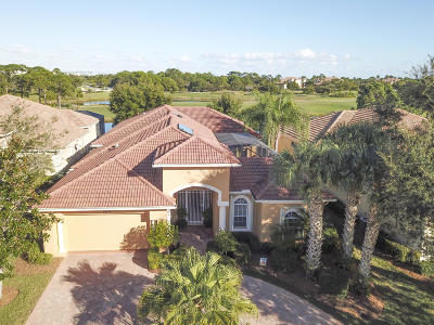Port Saint Lucie Single Family Home For Sale: 8608 Tompson Point Road
