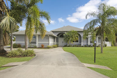 Port Saint Lucie Single Family Home For Sale: 2135 SE Harding Street