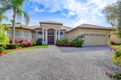 Boca Raton Single Family Home For Sale: 12428 Clearfalls Drive