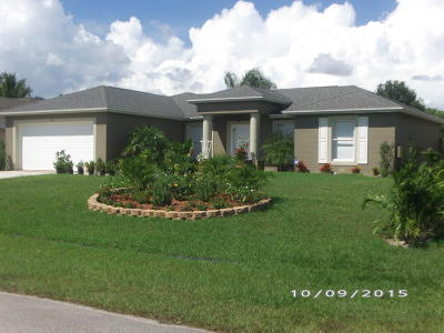 Port Saint Lucie FL Single Family Home For Sale: $210,000