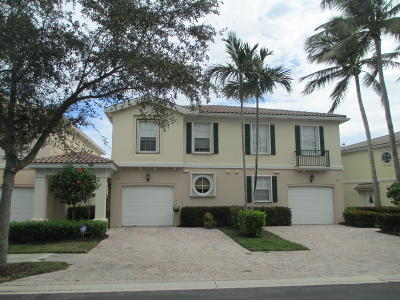 Palm Beach Gardens Townhouse For Sale: 213 Fortuna Drive