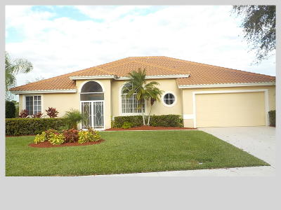 Port Saint Lucie Single Family Home For Sale: 1265 SW Maplewood Drive