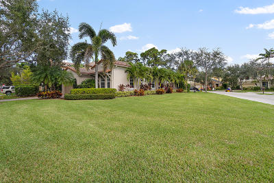 Palm Beach Gardens Single Family Home For Sale: 1038 Vintner Boulevard