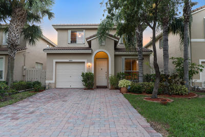 West Palm Beach Single Family Home Contingent: 3982 Lake Tahoe Circle