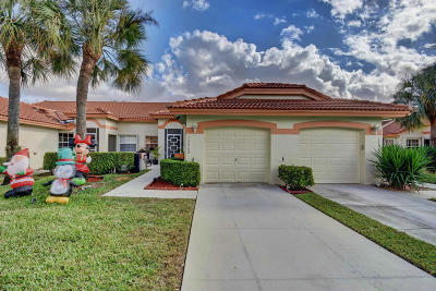 Delray Beach Single Family Home For Sale: 15262 W Tranquility Lake Drive